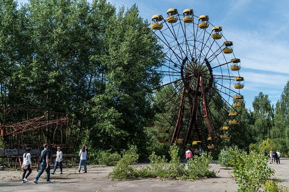 Tourism「Chernobyl 'New Safe Confinement' Structure Nears Ukrainian Handover」:写真・画像(12)[壁紙.com]