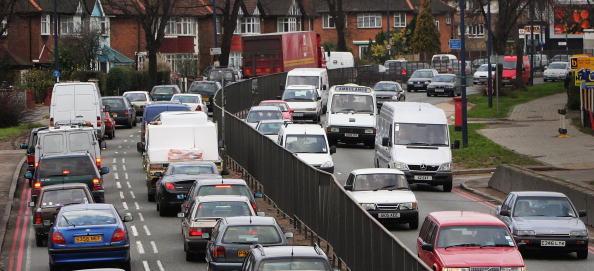 Traffic「GBR: Holiday Makers Depart For The Christmas Break」:写真・画像(0)[壁紙.com]