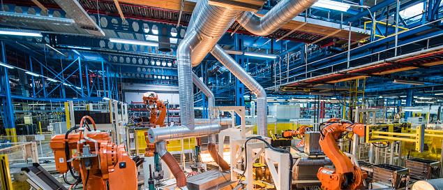 Robot Arm「Autonomous production line」:スマホ壁紙(10)