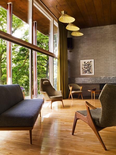 Living Room「Double Height Living Room」:写真・画像(17)[壁紙.com]
