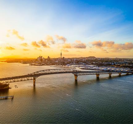 Sydney「Auckland at dawn」:スマホ壁紙(6)