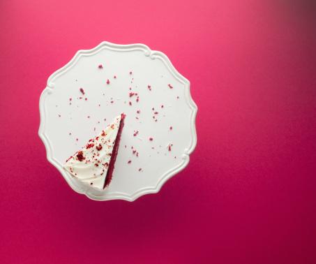 Sweet Food「Slice of chocolate cake on cakestand」:スマホ壁紙(11)