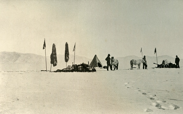 Mystery「The Camp After Passing The Previous Farthest South Latitude」:写真・画像(12)[壁紙.com]