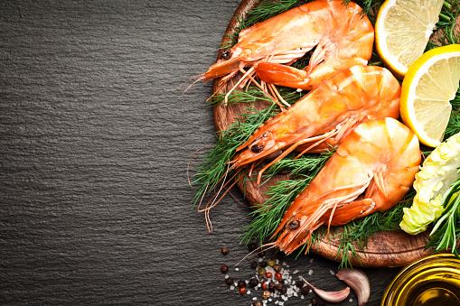 Prawn - Seafood「King prawns」:スマホ壁紙(15)