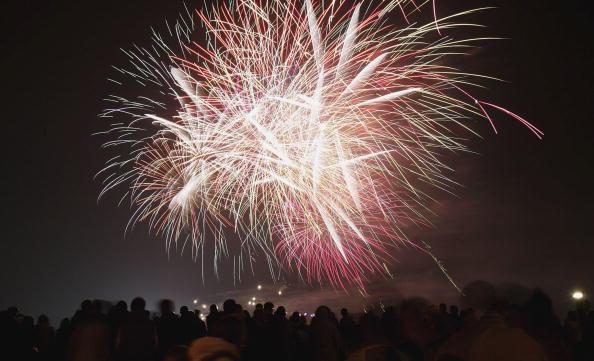 花火「Celebrations Take Place For Guy Fawkes Night」:写真・画像(3)[壁紙.com]