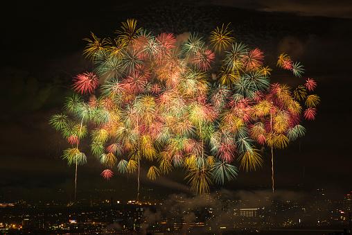 花火「Beautiful Japanese Fireworks from Nagaoka」:スマホ壁紙(19)