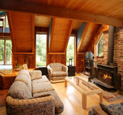 Log Cabin「luxury living room」:スマホ壁紙(15)