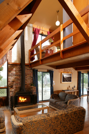 Log Cabin「luxury  living room」:スマホ壁紙(19)