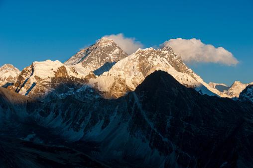Khumbu「Everest, Nuptse and Lhotse seen from the top of Gokyo Ri in Everest region of Nepal」:スマホ壁紙(6)