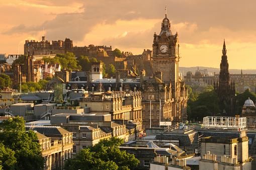 Castle「Edinburgh Cityscape」:スマホ壁紙(14)