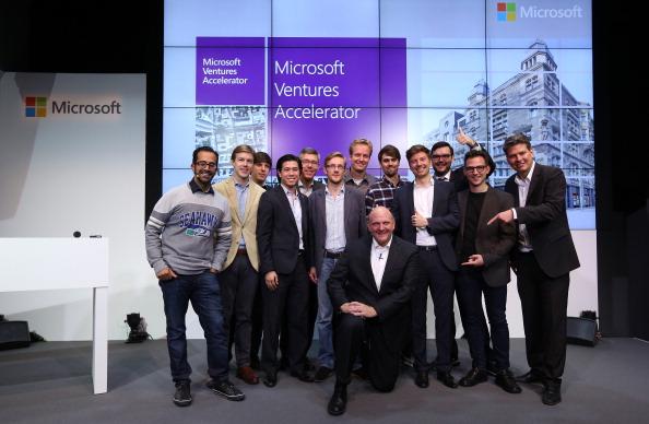 New Business「Microsoft Opens New Center In Berlin」:写真・画像(17)[壁紙.com]
