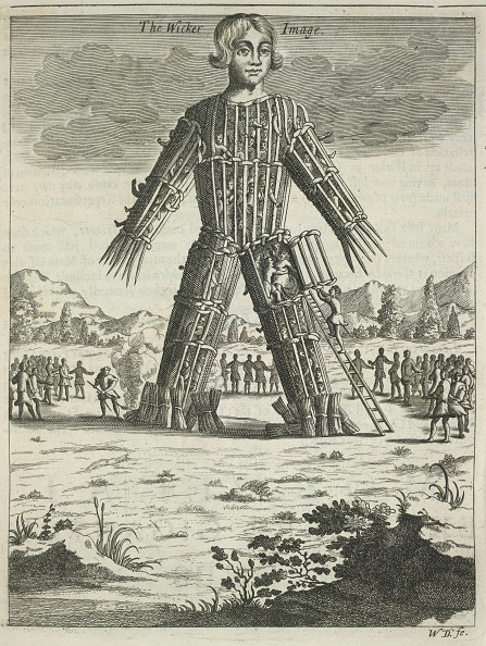 Men「Wicker man (from Britannia Antiqua Illustrata by Aylett Sammes), 1676」:写真・画像(14)[壁紙.com]