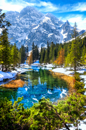 River「Vacations in Poland - Rybi stream flowing out of the Morskie Oko lake in Tatra Mountains」:スマホ壁紙(13)