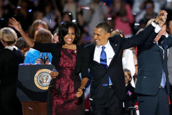 Scott Olson「President Obama Holds Election Night Event In Chicago」:写真・画像(9)[壁紙.com]