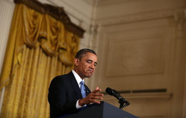 Alex Wong「President Obama Holds Final News Conference Of First Term」:写真・画像(5)[壁紙.com]