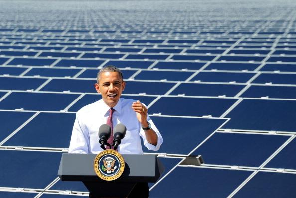 Solar Energy「President Obama Visits Largest Photovoltaic Plant In U.S. In Nevada」:写真・画像(12)[壁紙.com]