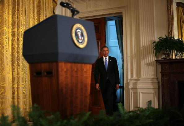 Alex Wong「President Obama Holds Final News Conference Of First Term」:写真・画像(4)[壁紙.com]