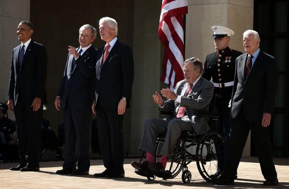 Former「George W. Bush Library Dedication Attended By President Obama And Former Presidents」:写真・画像(13)[壁紙.com]