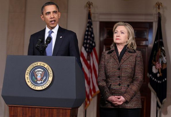 Secretary Of State「President Obama Delivers Statement On Libya」:写真・画像(16)[壁紙.com]