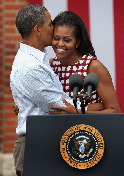 Scott Olson「President Obama Finishes Bus Tour Through Iowa」:写真・画像(7)[壁紙.com]