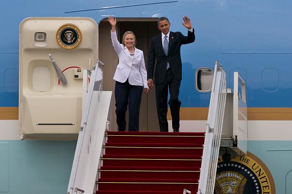 Secretary Of State「US President Obama Makes Historic Visit To Burma」:写真・画像(6)[壁紙.com]