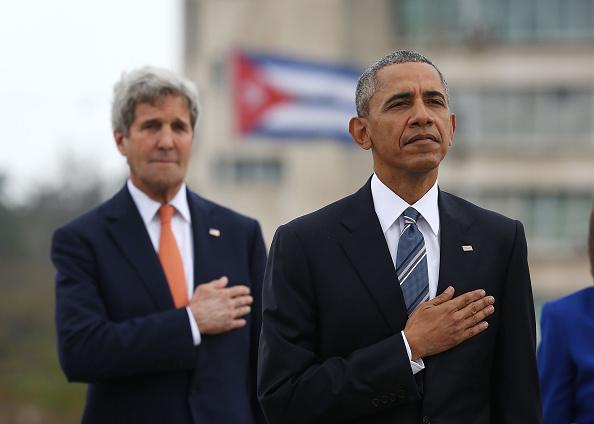 John Kerry「President Obama Lays Wreath At Jose Marti Memorial」:写真・画像(17)[壁紙.com]