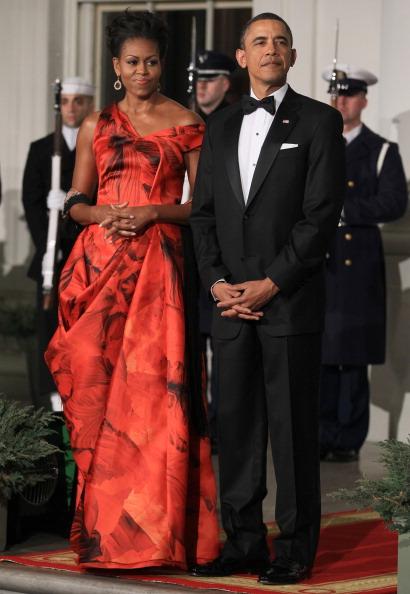 Alexander McQueen - Designer Label「Obama Hosts Chinese President Hu Jintao For State Visit At White House」:写真・画像(10)[壁紙.com]