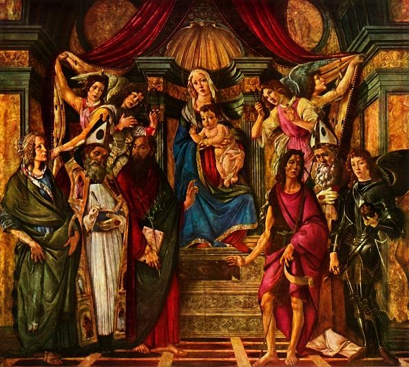 Virgin Mary「Madonna Enthroned With Six Saints」:写真・画像(15)[壁紙.com]
