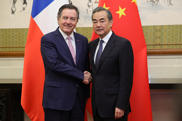 Latin America「Chile Foreign Minister Visits China」:写真・画像(4)[壁紙.com]
