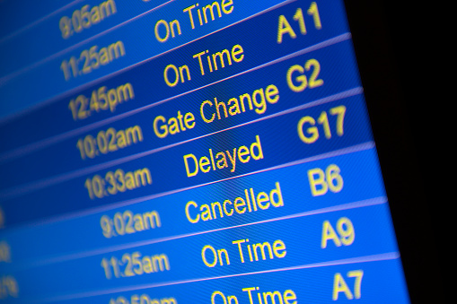 Delayed Sign「Cancelled flights due to weather」:スマホ壁紙(17)