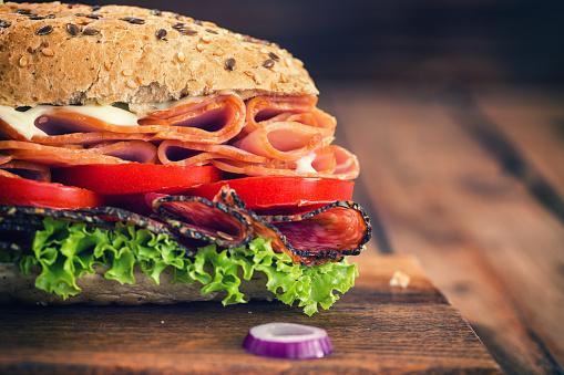 Chicken Meat「Fresh Submarine Sandwich」:スマホ壁紙(2)