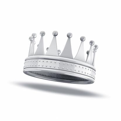 Crown - Headwear「White crown on white background」:スマホ壁紙(5)