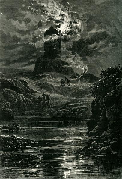 Horror「Smailholm Tower」:写真・画像(16)[壁紙.com]