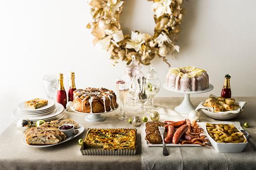 Sweet Food「Holiday brunch buffet」:スマホ壁紙(0)