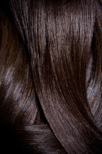 Long Hair「Tight crop of shiny dark brown hair.」:スマホ壁紙(10)