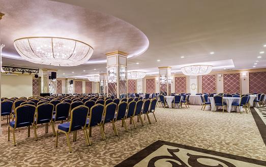 Convention Center「Interior of modern conference hall」:スマホ壁紙(6)
