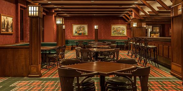 English Culture「Interior of irish a pub」:スマホ壁紙(15)