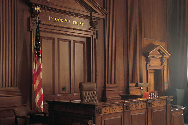 Interior of American courtroom:スマホ壁紙(壁紙.com)