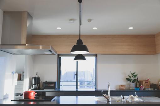 集合住宅「内装キッチン」:スマホ壁紙(12)