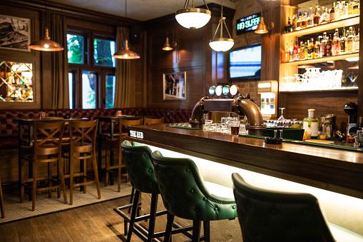 Nightclub「Interior of Irish pub」:スマホ壁紙(9)