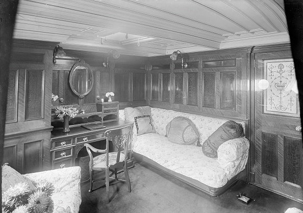 Passenger Craft「Interior Of Boudoir On Venetia」:写真・画像(0)[壁紙.com]