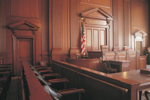 Courthouse「Interior of courtroom」:スマホ壁紙(1)