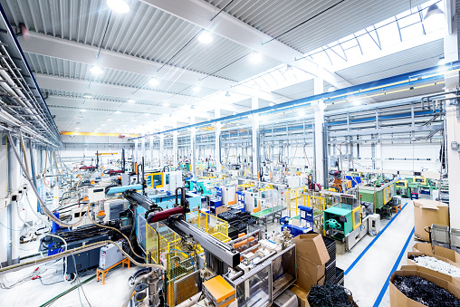 Recycling「Interior of modern factory」:スマホ壁紙(8)
