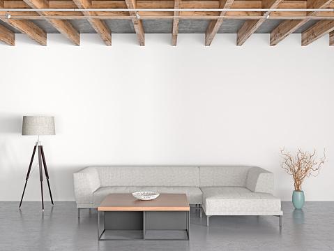 Sideboard「Interior of modern living room」:スマホ壁紙(16)