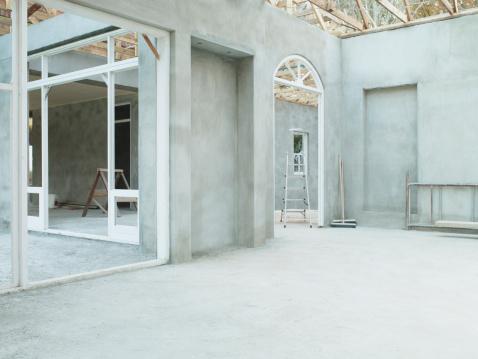 Development「Interior of house under construction」:スマホ壁紙(17)