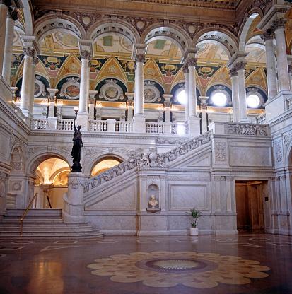 Female Likeness「Interior of the US Library of Congress」:スマホ壁紙(6)