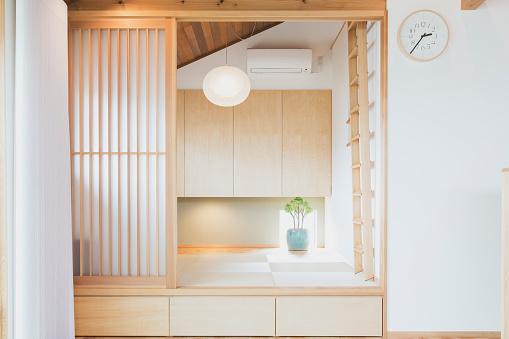Happiness「Interior of Japanese room」:スマホ壁紙(18)