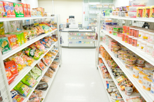 Store「Interior of convenience store」:スマホ壁紙(10)