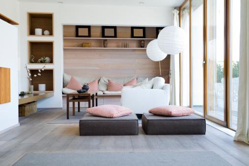 Arrangement「Interior of a Modern Living Room」:スマホ壁紙(10)