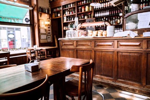 Buenos Aires「Interior of traditional coffee shop in Buenos Aires」:スマホ壁紙(18)
